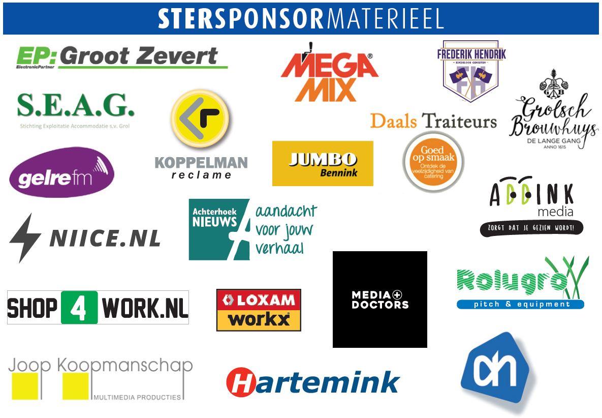 Marveld Tournament 2021 - Sponsors - Material Star Sponsors